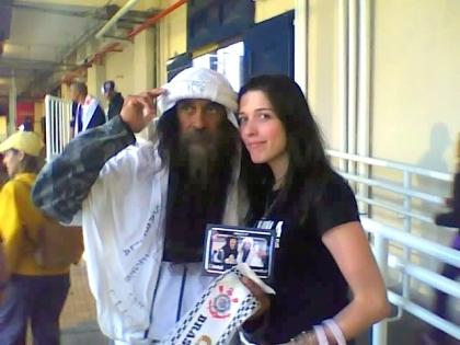 A blogueira e o Bin Laden do Timão