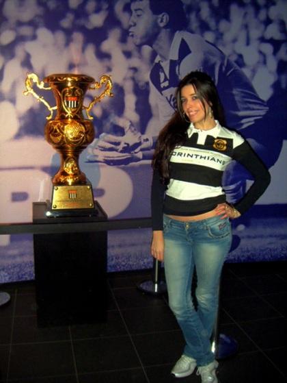 A taça do 26° título paulista, que é ainda mais especial, pois foi conquistado de maneira invicta.