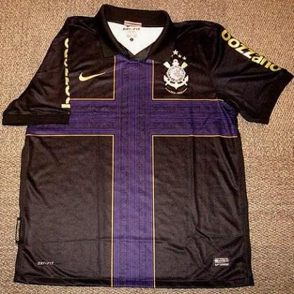 7c7037c0c4 Há alguns dias o Corinthians apresentou o seu novo terceiro uniforme